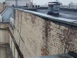 ремонт фасада в зимнее время