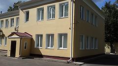 покраска здания
