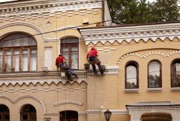 Косметический ремонт фасада.